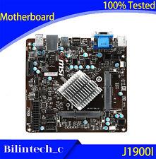 FOR MSI J1900I Motherboard Integrated CPU J1900 DDR3 Mini-ITX Mini