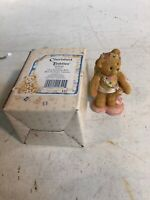 Cherished Teddies 103640 Love Girl With Now And Arrow New In Box