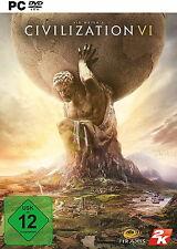 PC Sid Meier's Civilization VI von 2K Games Meiers Spiel NEU & OVP!