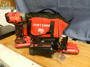 *NEW* CRAFTSMAN 20v Variable Speed Cordless Impact Driver Kit (CMCF82002)