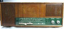 GRUNDIG 3040 M radio tube radio Radio in wooden housing 1964 - Vintage Rare