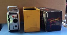 Vintage Kodak Brownie Movie Camera #82 8mm f/2.7 Lens w/Box & Operation Manual