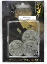 Titan Forge Ttfb06 Arid Planet (3) 40mm Round Bases Mechanical Locust Insect Bug