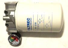 Hydraulikfilter Rucklauffilter Leitungsfilter komplet mit Verschmutzungsanzeige