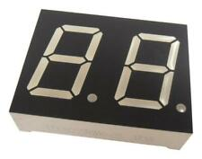 7 Segment LED Display, Green, 20 mA, 2.2 V, 2.3 mcd, 2, 20.3 mm - LD0805GWK