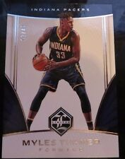 MYLES TURNER 2016/17 PANINI LIMITED #82 SILVER SPOTLIGHT #02/49 INDIANA PACERS