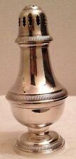 Grande saupoudreuse métal argenté modèle godrons