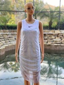 Nike Sportswear Women's Indio Dress White Large