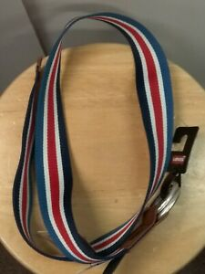 Levi's Levis authentic red white blue woven belt 38 size