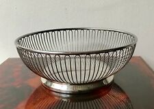 Cromargan WMF Stainless 18/8 Wire Basket Bowl, Made In Italy (RF213)