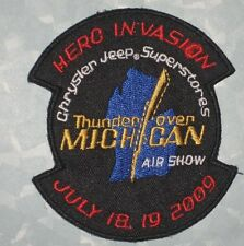 Thunder Over Michigan Air Show Patch - 2009 - Herc Invasion - Chrysler Jeep