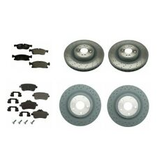 Front And Rear Brake Kit Rotors Brake Pads Genuine Mercedes W166 ML350 2012-2014