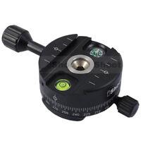 iShoot Panorama Head for Arca-Swiss Camera Tripod Ball Head &Quick Release Plate