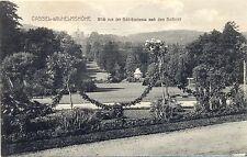 Cassel-Wilhelmshöhe, Blick von der Schlossterrasse, 1910