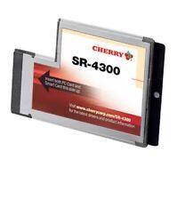 CHERRY SR-4300 ExpressCard 54  Smart Card Reader Writer DOD Military ID CAC