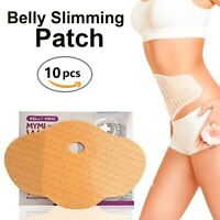 10Pcs Slimming Patch Belly Abdomen Weight Loss Burning Fat US