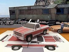 "Papercraft 1975 GMC Sierra Classic ""Rockford Files"" T.V. Paper Truck EZU-build"