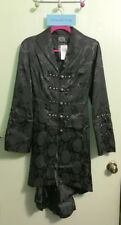 Hearts & Roses Hot Topic Gothic Witch Vampire Victorian Jacket Coat MEDIUM
