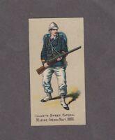 1888 Kinney Tobacco Military Series N224 MARINE FRENCH NAVY 1886