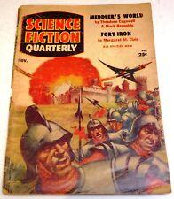 Science Fiction Quarterly – US pulp – Nov. 1955 - Vol.4 No.1 - Cogswell/Reynolds