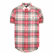 Ralph Lauren Herren Hemd Shirt Freizeithemd Gr.S CustomFit Karo Mehrfarbig 87532