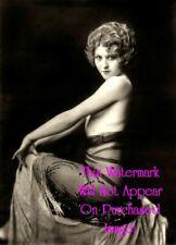 Old Vintage SEMI NUDE Exotic GIRL Ziegfeld FOLLIES Photo A Photograph Reprint