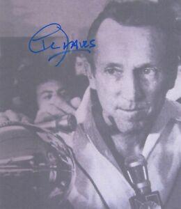 Al Davis Oakland Raiders Owner & HOF'er signed 8 x 9 photo (No COA)