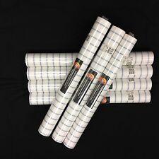 Stripe Blue White Norwall Wallpaper #BT23359 (Lot of 7 Double Rolls)