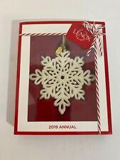 Lenox 2019 Snow Fantasies Snowflake Ornament 884554