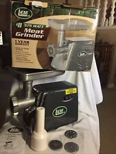 LEM #8 575 Watt Electric Countertop Grinder #1113  Used Twice  Excellent