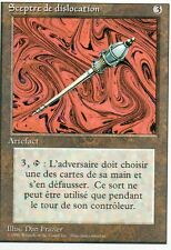 MTG Magic - 3ème Edition Bords Blancs - Sceptre de dislocation  -  Rare VF