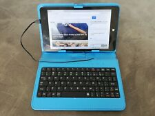 Linx 8 Wifi Windows 10 tablet bundle with case/keyboard & USB adapter