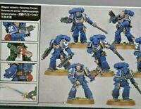 5 Space Marine Assault Intercessors INDOMITUS 5 MODELS Warhammer 40K
