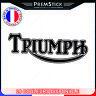 Stickers Triumph - Autocollant moto, deux roues, scooter, casque ref1