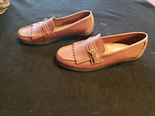 82a38703635 New ListingWeeguns G H Bass   Co Women s Brown Leather Slip On Loafters Sz  6.5M