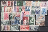 Z4680/ MOROCCO – 1953 / 1957 MINT MNH SEMI MODERN LOT – CV 160 $