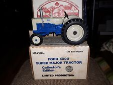 Ford 5000 Super Major Tractor Limited Edition Ertl 1/16