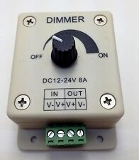 LED Dimmer 12 - 24 volt DC lighting bars strings modules flex lights PDM1-1P