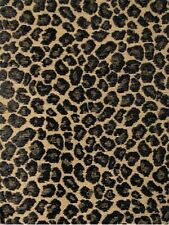 Spots Taupe Kaufmann Fabric Black Taupe Cheetah Chenille Upholstery
