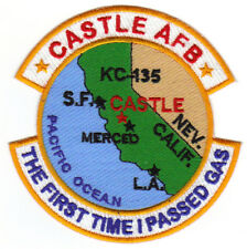 USAF AFB PATCH, CASTLE AFB CALIFORNIA, THE FIRST TIME I PASSED GAS       Y