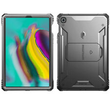 For Samsung Galaxy Tab S5E | [Screen Shield] Shockproof Hard Cover Case Black