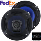 2Pcs Car Coaxial Speaker 6.5 Inch 500W Full Range Frequency Speakers for Car SUV photo