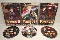 BABEL II : Par delà l'infini -3 DVD Mangas VOSTFR PAL Zone 2 Très bon état