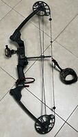 """Mission Menace Right Handed 17-30"""" 16-52lb Compound Bow Black"""