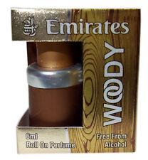 Woody 6ml Attar Perfume Oil & Alcohol Free Natural Arabian Attar Fragrance