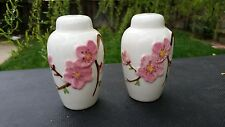 Poppytrail Metlox China PEACH BLOSSOM Salt and Pepper Set
