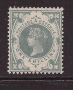 Queen Victoria 1887 Jubilee 1 shilling Green SG 211 MINT NEVER HINGED MNH