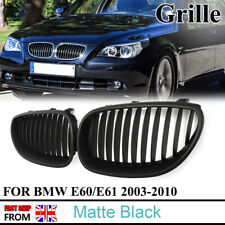 9b8a108e0b7 For 2003-2009 BMW E60 E61 5 Series M5 Front Kidney Grille Grille Matte Black