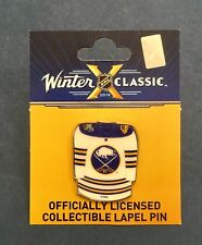 2018 NHL Winter Classic Citi Field Buffalo Sabres Jersey Enamel Pin