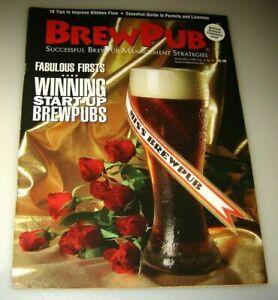 BrewPub Magazine September 1999 Successful Brewpub management Strategies